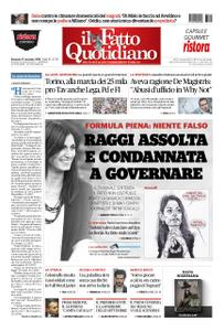 Il Fatto Quotidiano - 11 novembre 2018
