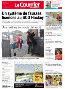 Le Courrier de l'Ouest Cholet – 13 mai 2020