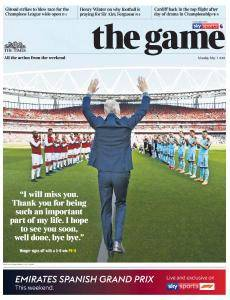 The Times - The Game - 7 May 2018