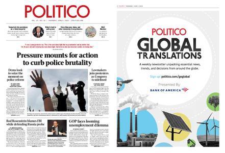 Politico – June 04, 2020