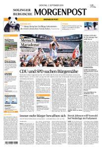 Solinger Morgenpost – 03. September 2019