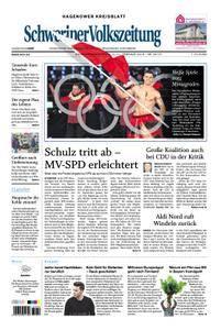 Schweriner Volkszeitung Hagenower Kreisblatt - 10. Februar 2018
