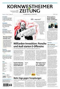 Kornwestheimer Zeitung - 10. Februar 2018