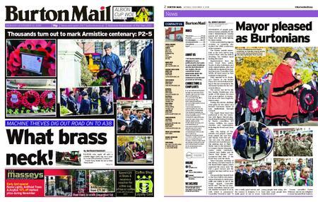 Burton Mail – November 12, 2018