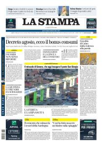 La Stampa Imperia e Sanremo - 3 Agosto 2020