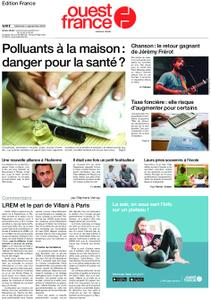 Ouest-France Édition France – 04 septembre 2019