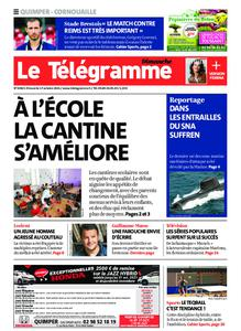 Le Télégramme Ouest Cornouaille – 17 octobre 2021