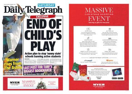The Daily Telegraph (Sydney) – November 23, 2019