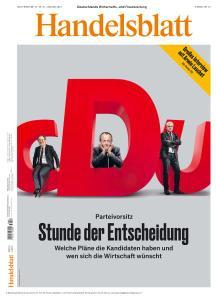 Handelsblatt - 15-17 Januar 2021