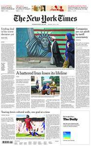 International New York Times - 10 May 2018