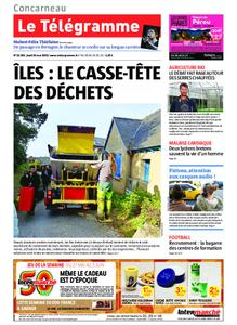 Le Télégramme Concarneau – 30 mai 2019