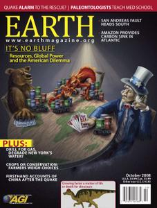 Earth Magazine - October 2008
