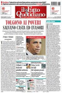 Il Fatto Quotidiano (07-08-11)