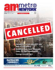 AM New York - March 13, 2020