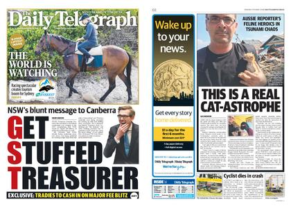 The Daily Telegraph (Sydney) – October 04, 2018