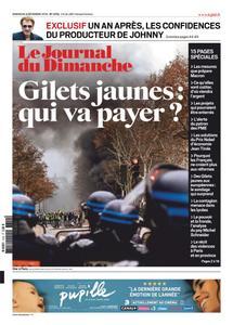 Le Journal du Dimanche - 09 décembre 2018