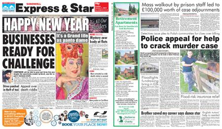 Express and Star Sandwell Edition – January 01, 2019