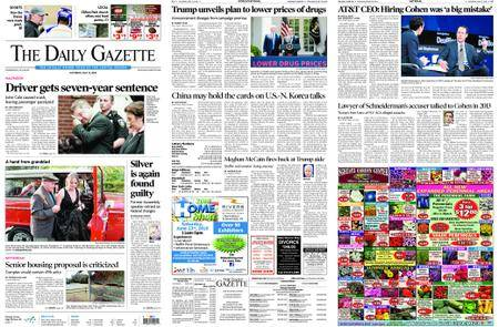 The Daily Gazette – May 12, 2018