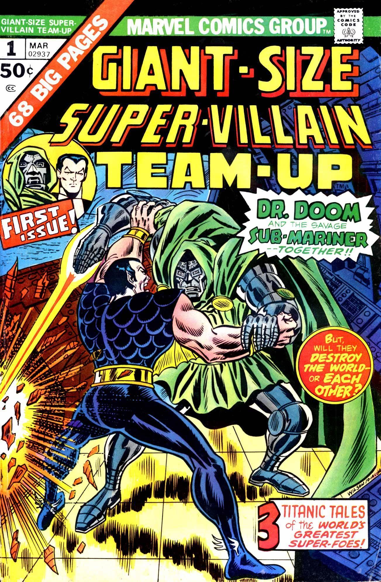 Giant Size Super-Villain Team-Up 001