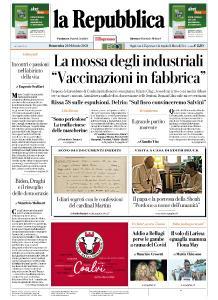 la Repubblica - 21 Febbraio 2021