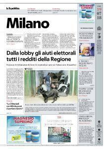 la Repubblica Milano - 19 Luglio 2018