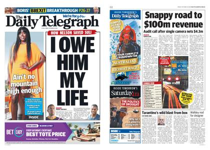 The Daily Telegraph (Sydney) – October 18, 2019