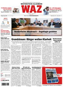 WAZ Westdeutsche Allgemeine Zeitung Essen-Postausgabe - 28. Juni 2019