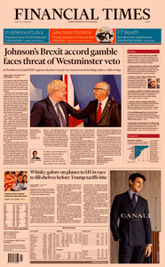 Financial Times Europe – 18 October 2019