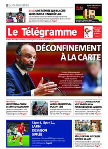 Le Télégramme Concarneau – 29 avril 2020