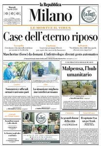 la Repubblica Milano - 7 Aprile 2020