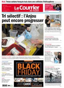 Le Courrier de l'Ouest Angers – 27 novembre 2019