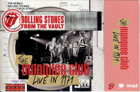 The Rolling Stones - From the Vault: The Marquee Club Live in 1971 (2015) [3CD + DVD, Deluxe Edition]