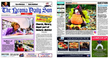 The Laconia Daily Sun – November 08, 2019