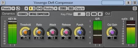 Voxengo Deft Compressor 1.8