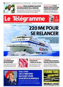 Le Télégramme Brest Abers Iroise – 21 juillet 2021