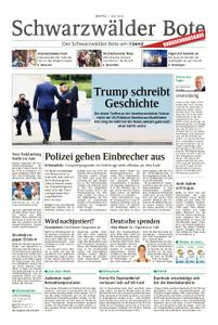 Schwarzwälder Bote Hechingen - 01. Juli 2019