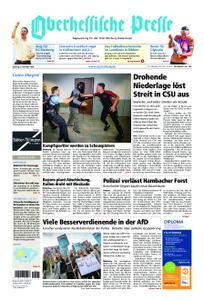 Oberhessische Presse Marburg/Ostkreis - 08. Oktober 2018