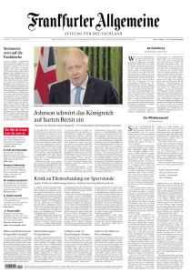 Frankfurter Allgemeine Zeitung - 17 Oktober 2020