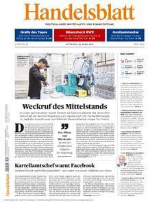 Handelsblatt - 25. April 2018