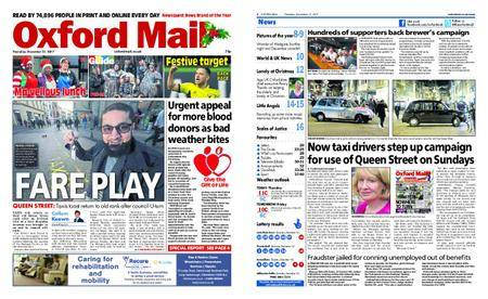 Oxford Mail – December 21, 2017
