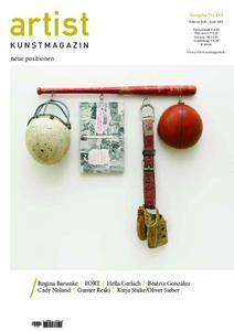 Artist Kunstmagazin – April 2019