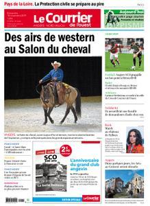 Le Courrier de l'Ouest Nord Anjou – 10 novembre 2019