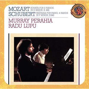 Murray Perahia, Radu Lupu - Mozart & Schubert: Works for Piano Duo (Expanded Edition) (1985/2003)
