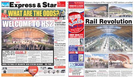 Express and Star City Edition – October 09, 2018