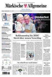 Märkische Allgemeine Dosse Kurier - 17. September 2018