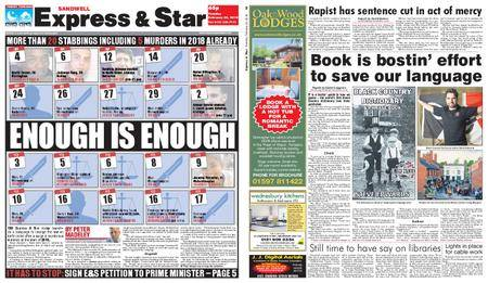 Express and Star Sandwell Edition – February 20, 2018