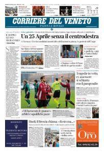 Corriere del Veneto Padova e Rovigo - 26 Aprile 2018