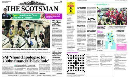 The Scotsman – September 17, 2018