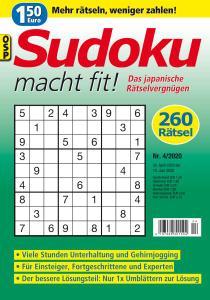Sudoku macht fit - Nr.4 2020