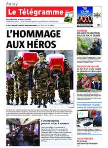 Le Télégramme Auray – 15 mai 2019